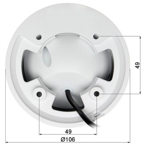 Видеокамера Dahua DH-HAC-HDW1400EMP-A-0360B