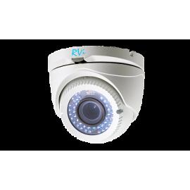 Антивандальная TVI камера видеонаблюдения TVI RVi-HDC321VB-T (2.8-12)